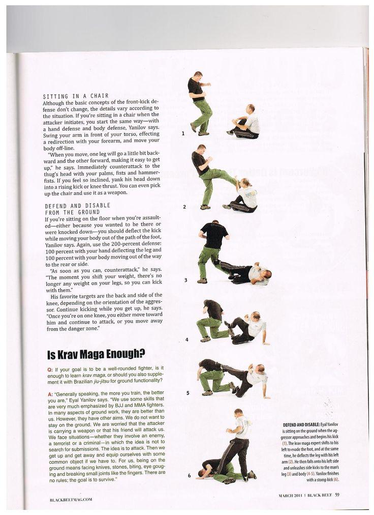 Eyal Yanolov's interview for Black Belt magazine