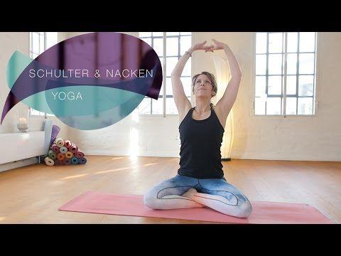 Yoga für Schulter und Nacken – Verspannungen schnell lösen // Flexib… – Mei Dida