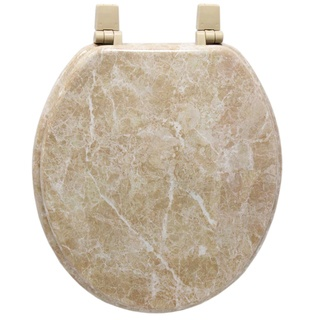 @Overstock - Enhance your bathroom decor with this molded wooden toilet seats Toilet accessory is made with wood composite with water and stain-resistant finish Home improvement accessory features faux-marble painting in a tan marblehttp://www.overstock.com/Home-Garden/Trimmer-Marblized-Molded-Wooden-Toilet-Seats/3450369/product.html?CID=214117 $23.42