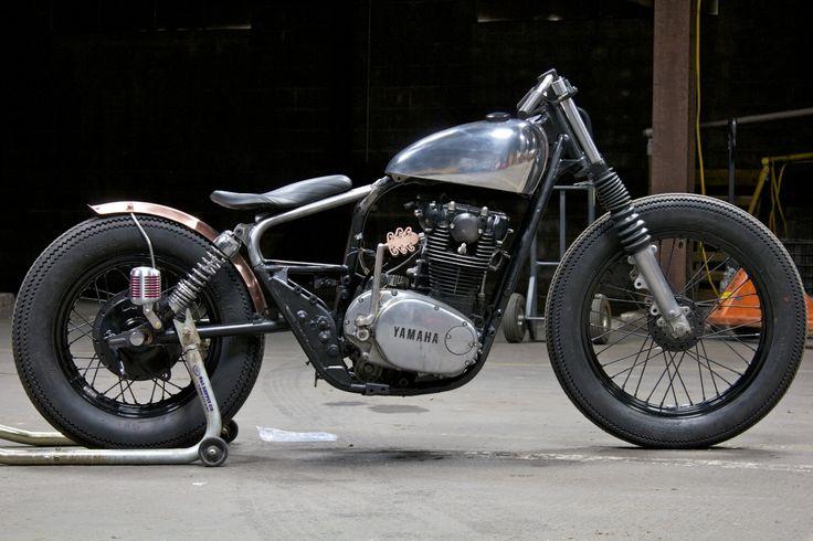 Yamaha XS 650 Weld-on Brat Kit Bobber Chopper Street Tracker | eBay