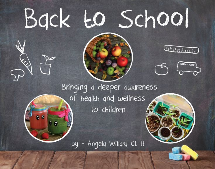 As we near the back to school season, there is a buzz of excitement among families as they prepare for this time. Some parents, however, can feel some apprehension about their children's health and wellness being influenced by peers that have a different lifestyle approach or alignment within the school.  This situation can be an opportunity to be the change and plant the seeds of health and wellness into your children's school, rippling choices of vibrant health...