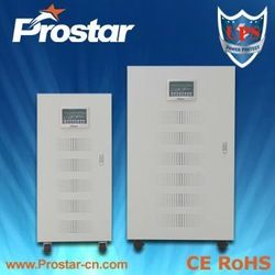 Online industrial UPS power supply  DSP digital control technology  IGBT inverter technology  Powerful overload ability  3 phase