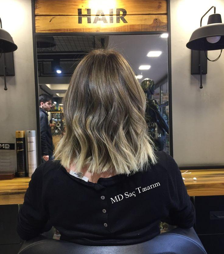 Ombre Hair😎 #ombre #balyaj #isilti #isiltilisaclar #hair #kuaför #izmir #hairtransformation #haircolor #renk #color #efsanesaclar #hairdesign #hairfashion #fashion #love #lovehair #sombrehair #newcolor #mdsactasarim @mdmetindemir