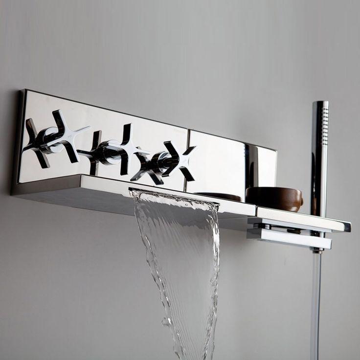 17 melangeur douche pinterest radiateur en fonte fonte m - Flexible de baignoire ...