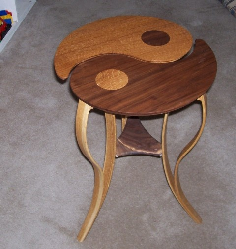 Asian ying yang table products i love pinterest for Table yin yang