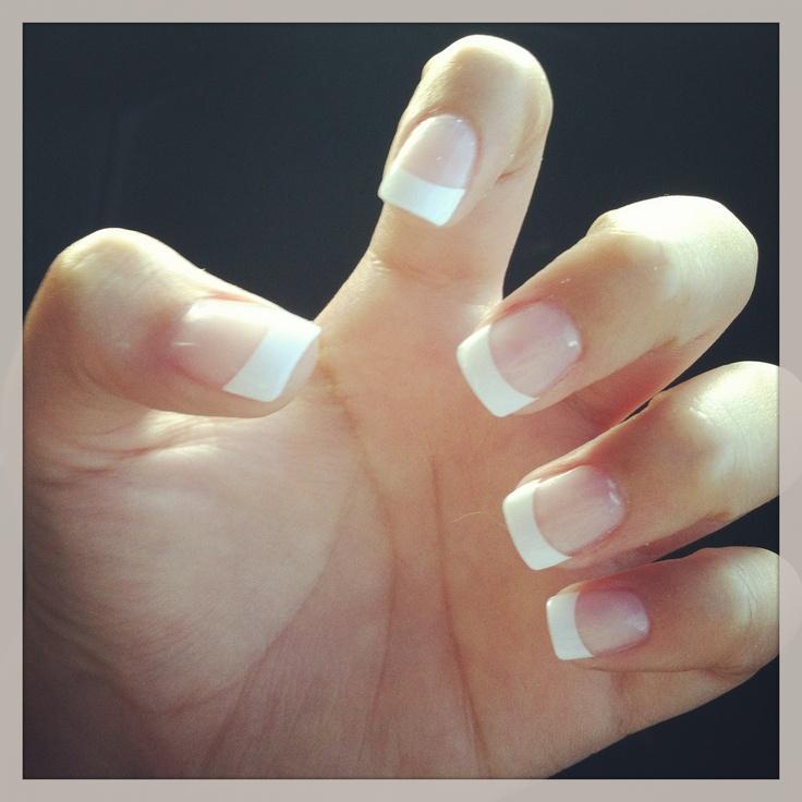 white tip nails ideas