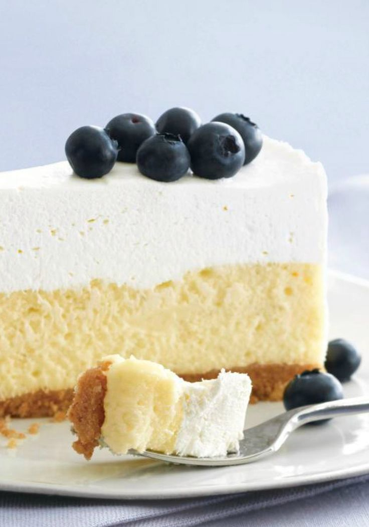 PHILADELPHIA Vanilla Mousse Cheesecake -- This is not your mother's cheesecake recipe: It's the classic dessert topped with a fluffy, whipped layer of vanilla mousse. ❤ DiamondB! Pinned ❤