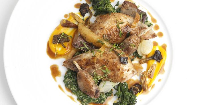 Geoffrey Smeddle shares a majestic partridge and chestnuts recipe, perfect for the colder months.