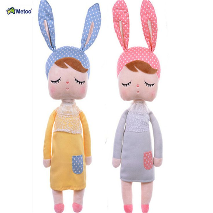 Cute Dolls Baby Metoo Bunny Plush Toys Stuffed Animals Panda Bee Dolls for Girls Baby Kids Toy F5