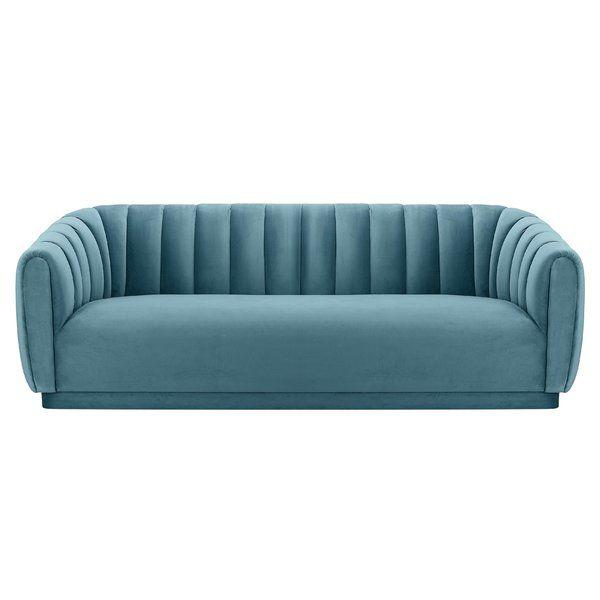 Dia Sofa Blue Fabric Sofa Furniture Living Room Sofa Design