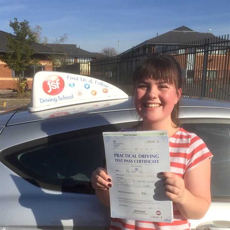 """""""Thank you so much to JSF Driving School and Jim for enabling me to achieve my dream this morning! Over the moon! Jim's advice and patience was second to none, I don't know how you always manage to stay calm. Had the best experience and cannot wait to get on the road. Thank you again."""" Brilliant first time pass for Kerry Frost from at Gloucester Test Centre on 30th October, 2017. Enjoy your freedom Kerry, been a pleasure teaching you."""