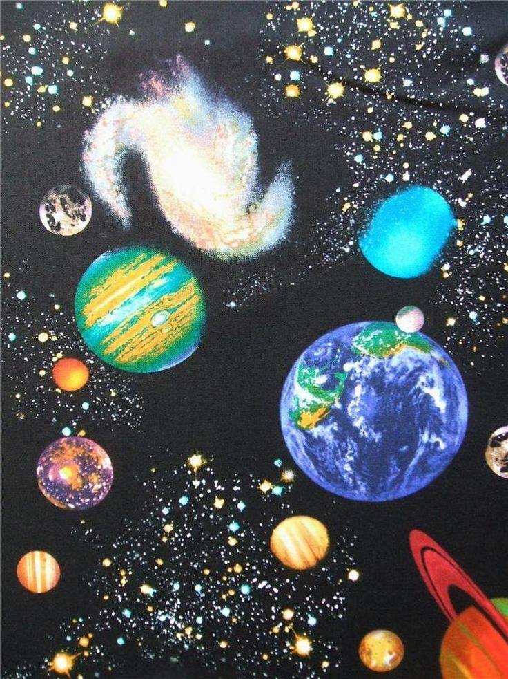 28 best solar fabric images on pinterest sistema solar for Fabric planets solar system