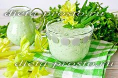Очищающий смузи – зелёный коктейль по Дюкану