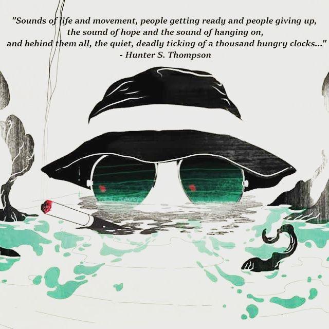 Hunter S Thompson Music Quote: Best 25+ Hunter S Thompson Ideas On Pinterest