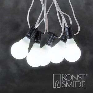Konstsmide 4640-103 Connectable Christmas Festoon Lights - 10 LEDs