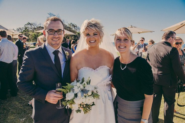 Celebrant Michelle Shannon with Katie and Lee at North Byron Events - Byron Bay #celebrant #byronbay