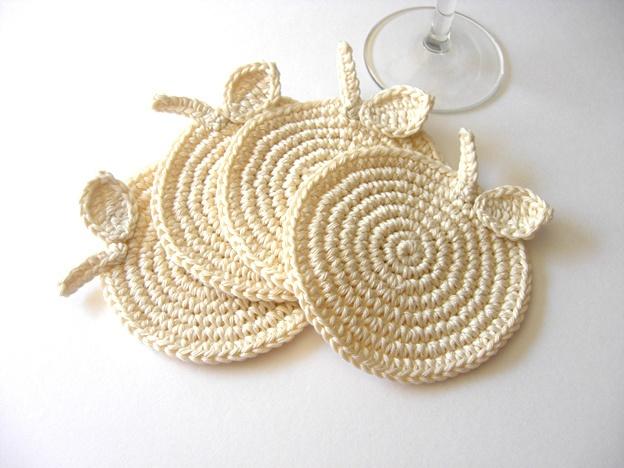 Coasters #crochet