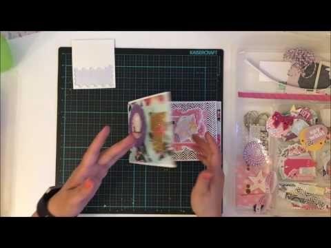 Flip book using Kitaholic Kit