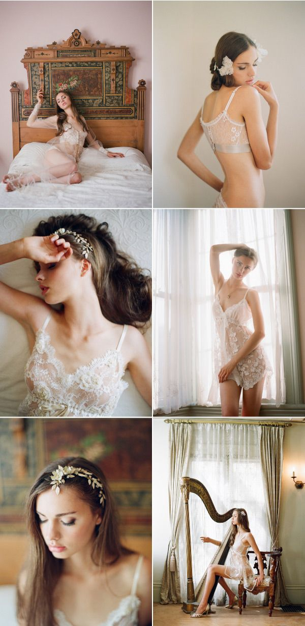 Claire Pettibone Boudoir Session by Elizabeth Messina. Apparently, someone thinks this is inappropriate. Seriously? You cant see anything.