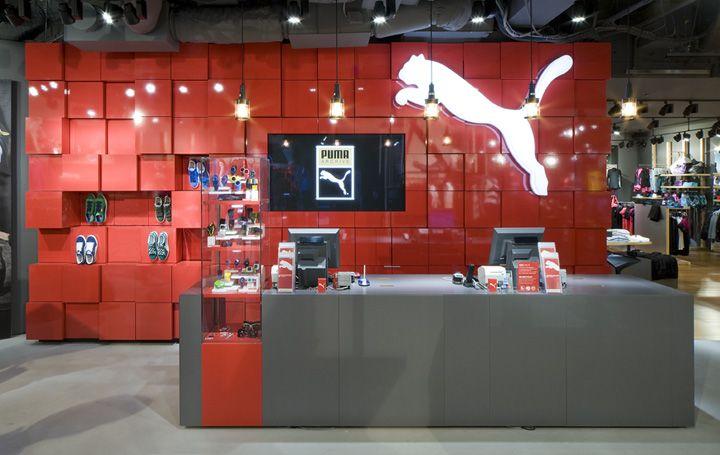 Puma Store Tokyo Playner Franz Studio 002 Puma store by Plajer & Franz Studio, Tokyo Harajuku