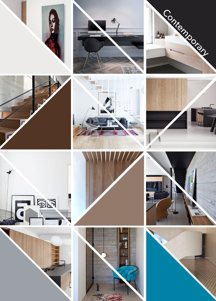 Moodboard Contemporary Style, by me!