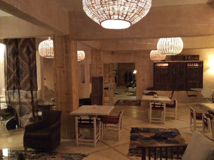 Riad Caravane, Morocco, Common Room