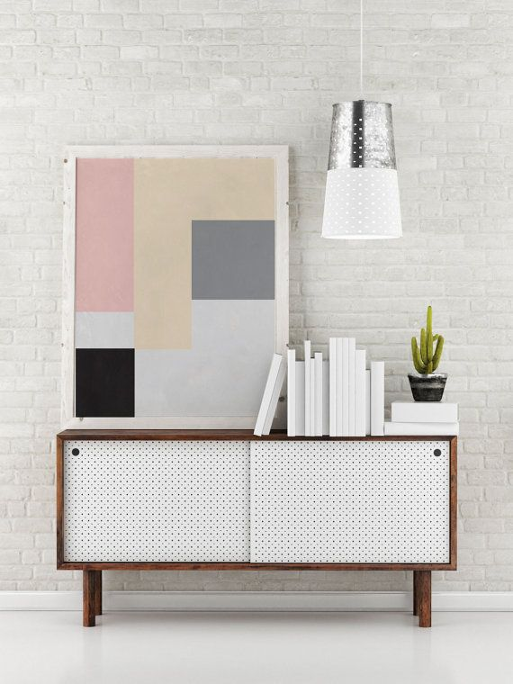 Rectangle Print Geometric Poster Abstract Art by LovelyPosters