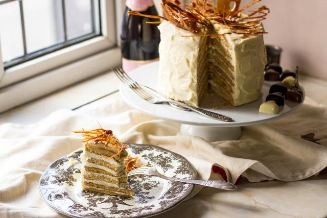 "Russian Honey Cake ""Medovik"""