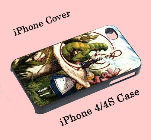 ALICE IN WONDERLAND Hookah Caterpillar For iPhone 4/4S case