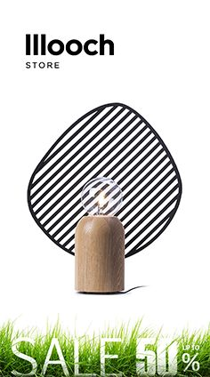 The base of the table #lamp Louvers is made of solid oak and its reflector is handmade from steel. #lighting #designerlighting