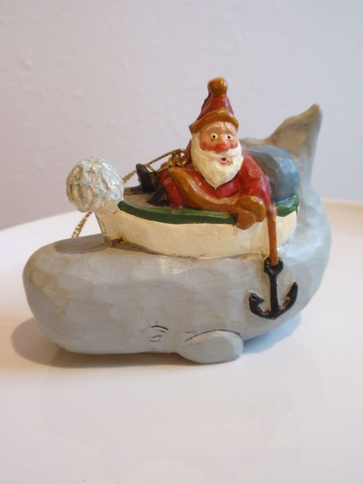 "House of Hatten  Susan Smith  Retired ""WHALE OF A TALE"" SANTA 1999"