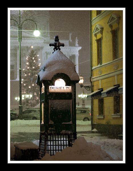 Telephone Booth, Helsinki, Finland