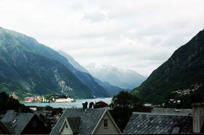 Odda, Norway - a stop before hiking Trolltunga