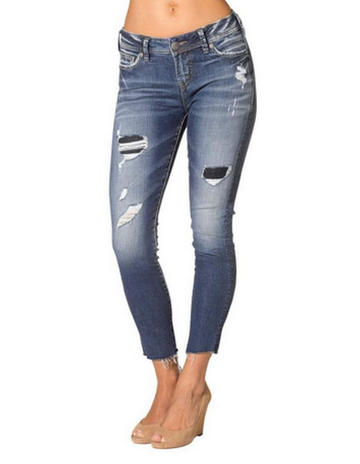 Tuesday Mid Rise Ankle Skinny Cut – TWISTED LABEL
