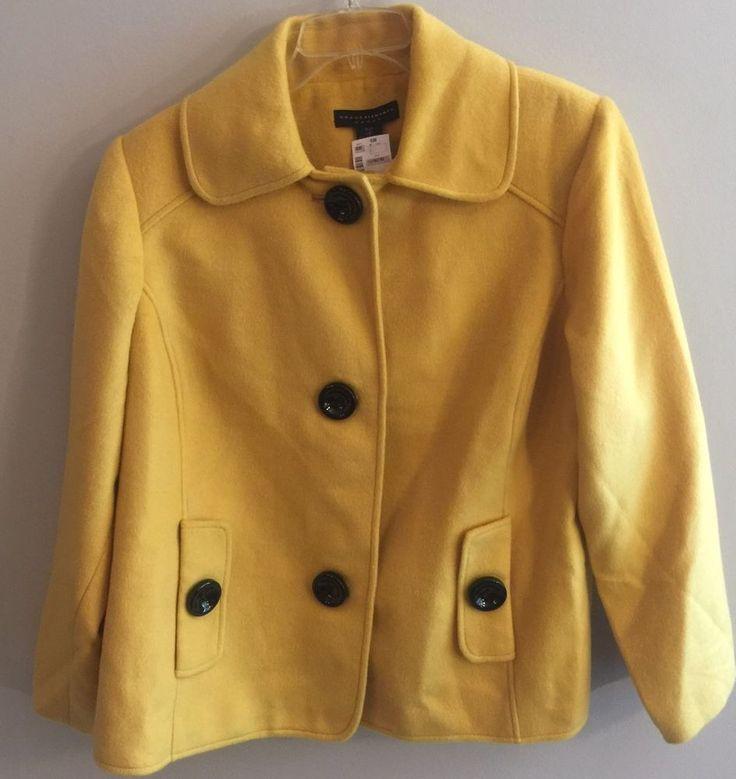 Grace Elements Yellow Jacket Blazer Plus Size 16W NWT  | eBay