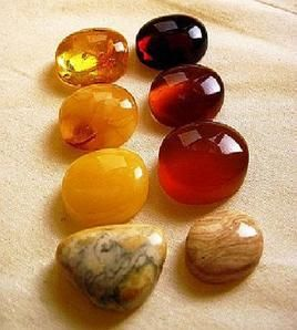 Amber:  although not technically a stone or geode, it promotes grounding in nature and can aid in detoxifying the body | #perspicacityparty #magicgeodes #amber