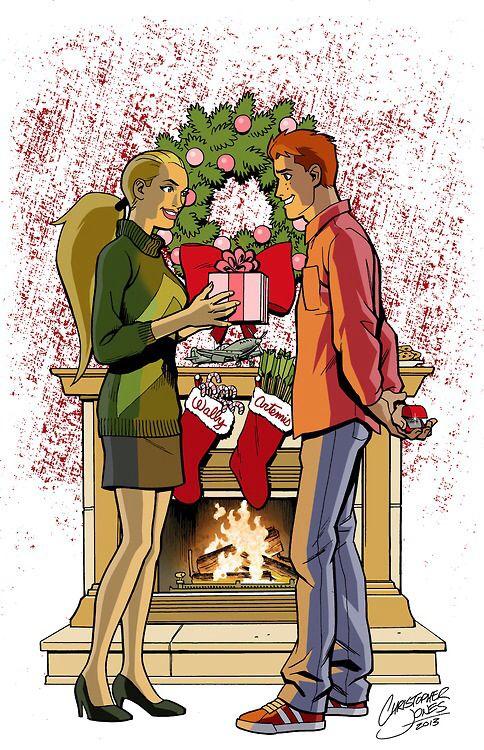 Artemis Crock... ¿Quieres casarte conmigo? (Privado Wally y Artemis) 8d11f9e8f4235d1b99d090529421192a--young-justice-comic-art