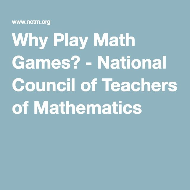 7 best other interesting sources images on pinterest high stakes national council of teachers of mathematics fandeluxe Choice Image
