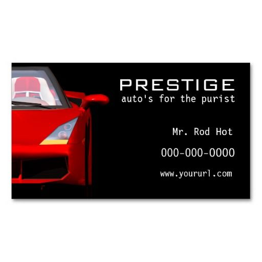 200 best Auto Insurance Business Cards images on Pinterest ...