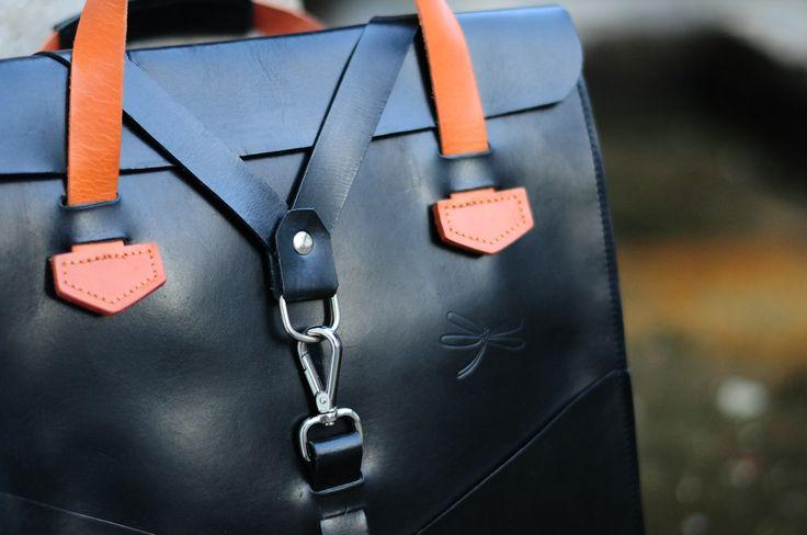 Leather bag men- Desing Ludena. Leather handbag and shoulder bag for men, Computer bag, folders, ect.