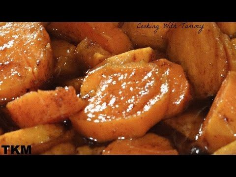 Southern Baked Candied Yams - Soul Food Style - I Heart Recipes - YouTube