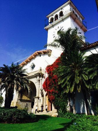 Santa Barbara County Courthouse: Santa Barbara Courthouse. We Can Take You There! (866) 319-LIMO www.ALuxuryLimo.com