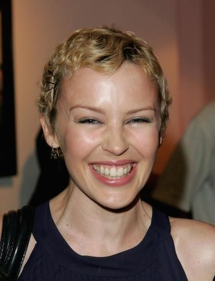 kylie minogue short curly hair - Google Search