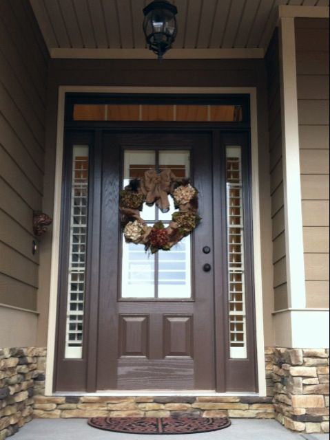 brown front door31 best Entry Ideas for the House images on Pinterest  Entry