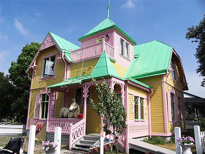 Pippi's villa villakulla