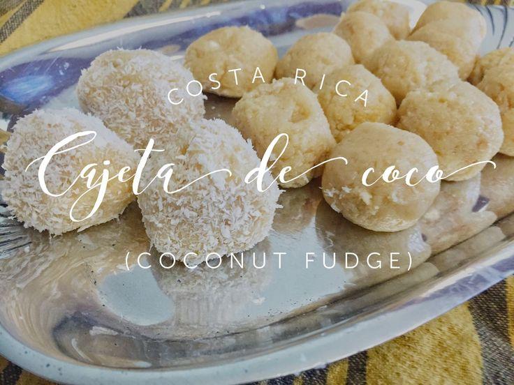Taste the World - Costa Rica -  Cajeta de Coco (Coconut Fudge) — Midnight Pie