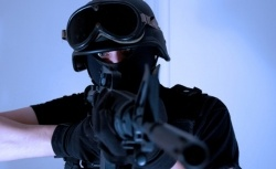 The scariest innovation in the Aurora mass shooting isn't guns or ammo. It's SWAT gear.