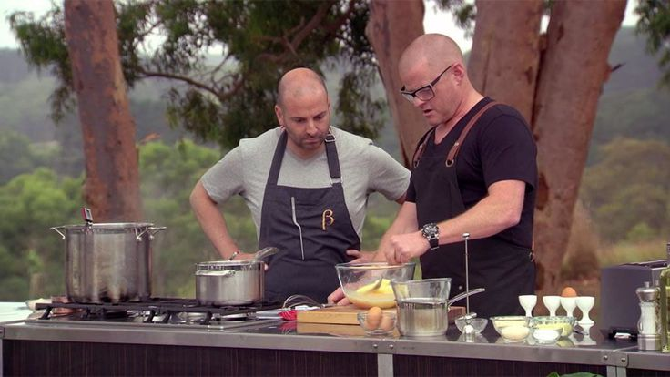 MasterChef Australia Heston's MasterClass: Egg Cookery Class