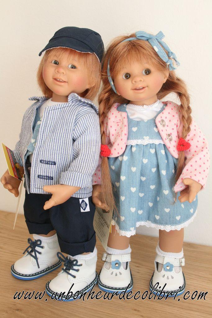 Poupée Frieda et Tom