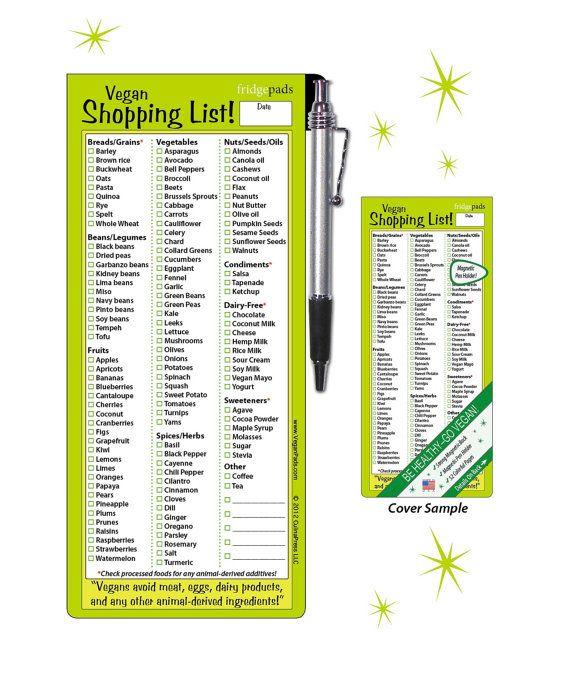25+ best ideas about Vegan shopping lists on Pinterest | Vegan ...